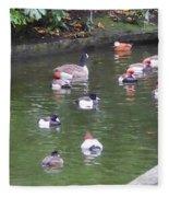 Park Waterfowl Fleece Blanket