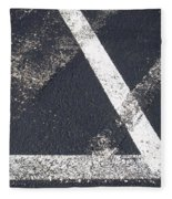 Parking Lot 6 Fleece Blanket
