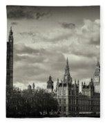 Parliament Fleece Blanket