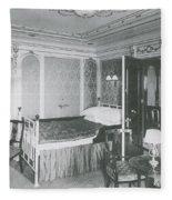 Parlour Suite Of Titanic Ship Fleece Blanket