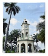 Parque Central Ahuachapan El Salvador Fleece Blanket