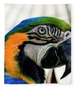 Parrot Head Fleece Blanket