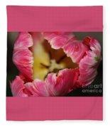 Parrot Tulip Fleece Blanket