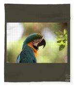 Parrot's Eye Fleece Blanket