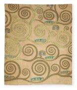 Part Of The Tree Of Life, Part 5 Fleece Blanket