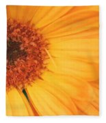 Partly Sunny Fleece Blanket