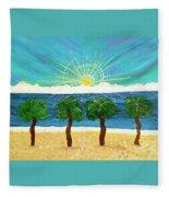 Partners In Shine Fleece Blanket