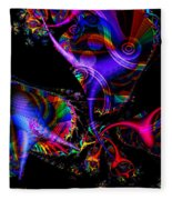 Party All The Time Fleece Blanket