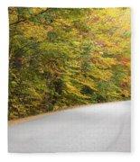 Passaconaway Road - White Mountains New Hampshire Usa Fleece Blanket