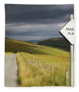 Passing Place Fleece Blanket