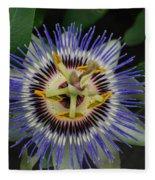Passion Bloom Vi Fleece Blanket