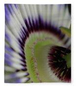 Passion Flower Fleece Blanket