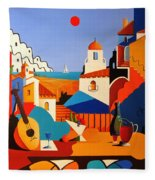 Passion For Life Spain Fleece Blanket