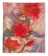 Passion In Three Fleece Blanket