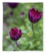 Passionate Purple Fleece Blanket