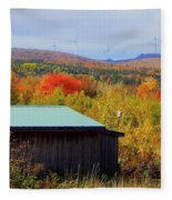 Past, Present And The Future Fleece Blanket
