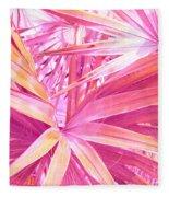 Pastel Dream In Pink Fleece Blanket