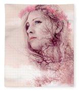 Pastel Morning Fleece Blanket