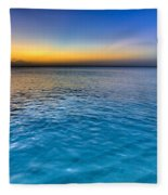 Pastel Ocean Fleece Blanket