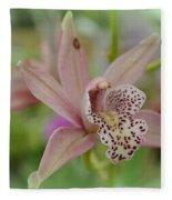 Pastel Orchid Fleece Blanket