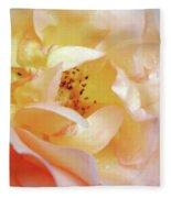 Pastel Rose Fleece Blanket