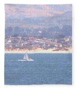 Pastel Sail Fleece Blanket