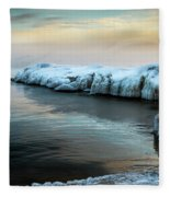 Pastels And Ice Fleece Blanket