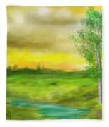 Pastoral Fleece Blanket