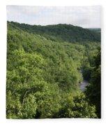 Patapsco Valley State Park - Overlook Fleece Blanket