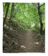 Path By The River Fleece Blanket