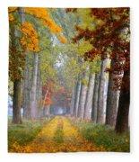 Path Fleece Blanket