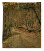 Path Fleece Blanket
