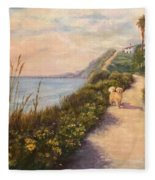 Path To Bacara , With Golden  Fleece Blanket