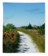Path To Paradise Fleece Blanket