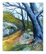 Path To Rivendale Fleece Blanket
