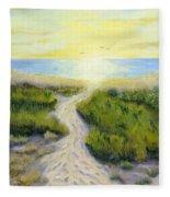 Path To Serenity Fleece Blanket