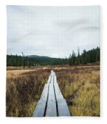 Path To The Unknown Fleece Blanket