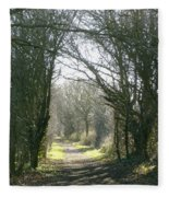 Path To Wherever Fleece Blanket
