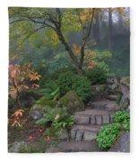 Pathway To Serenity Fleece Blanket