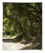 Pathway To Somewhere Fleece Blanket