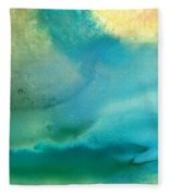 Pathway To Zen Fleece Blanket
