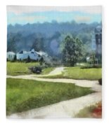Pathways Fleece Blanket