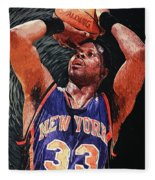 Patrick Ewing Fleece Blanket