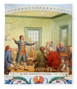 Patrick Henry, First Continental Fleece Blanket