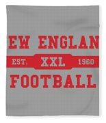 Patriots Retro Shirt Fleece Blanket