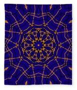 Kaleidoscope 840 Version 2 Fleece Blanket