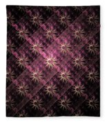 Pattern Of Stars Fleece Blanket