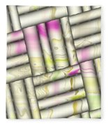 Pattern Tiles Abstract Fleece Blanket