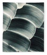 Patterned Ointment On Black Sheet Fleece Blanket