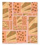 Patterns Of Finding Solace 200 Fleece Blanket